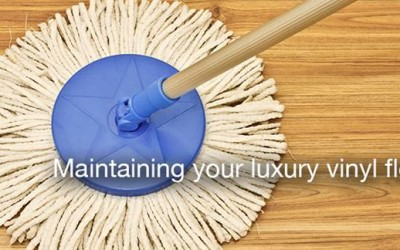 Maintaining Your Luxury Vinyl Flooring